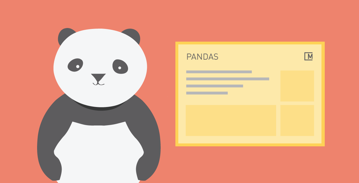 Pandas cheat sheet - MORPHOCODE