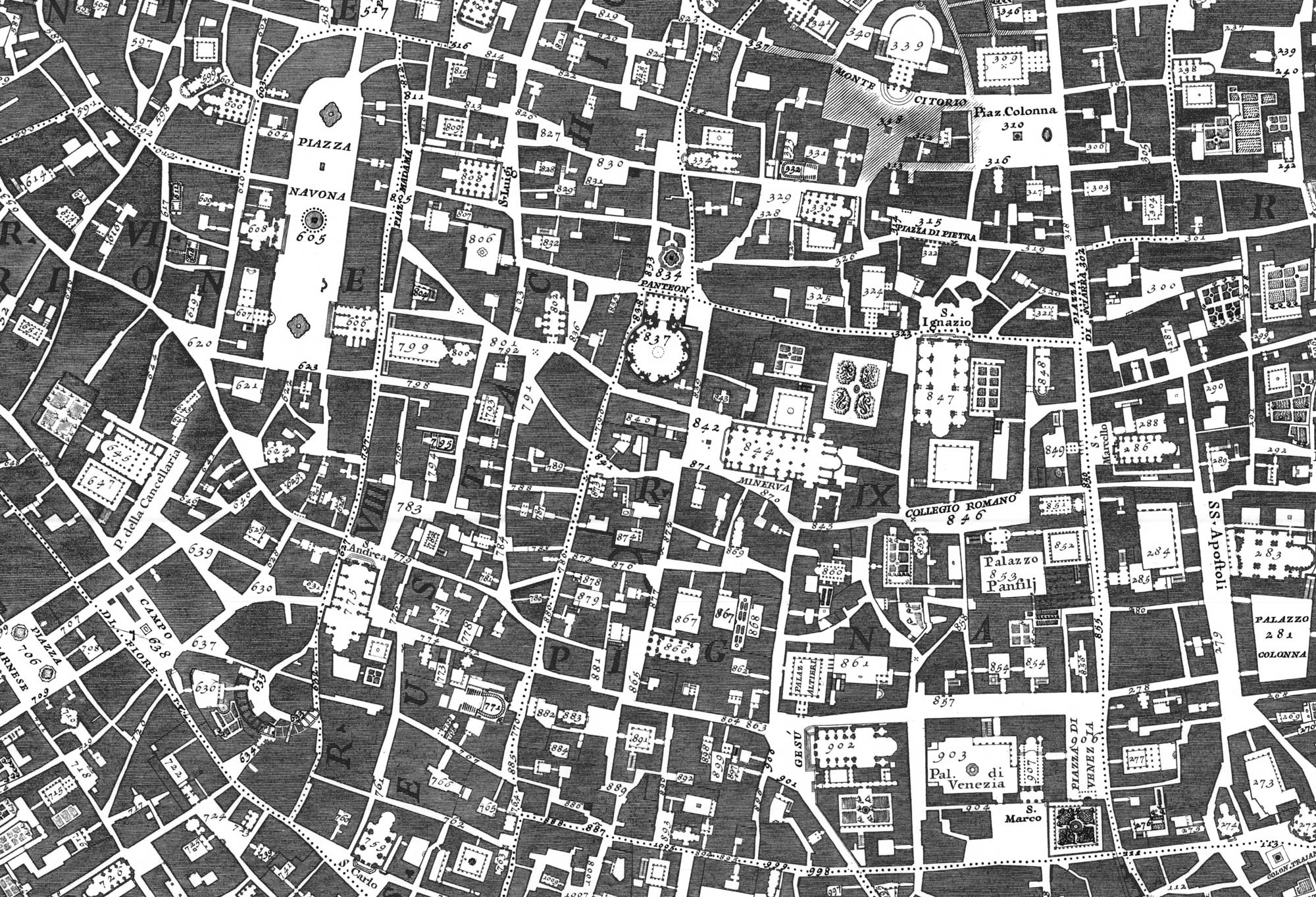 The figure-ground diagram - MORPHOCODE on drawing a city map, create a city map, design a helmet,