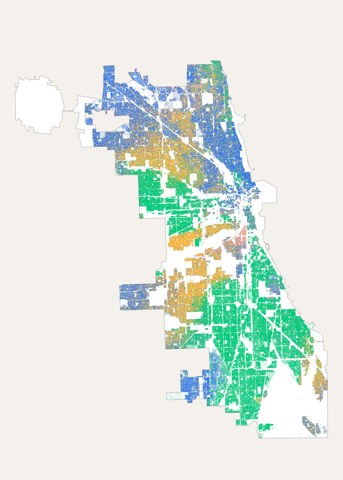 Morphocode Explorer: Chicago Demographics Map