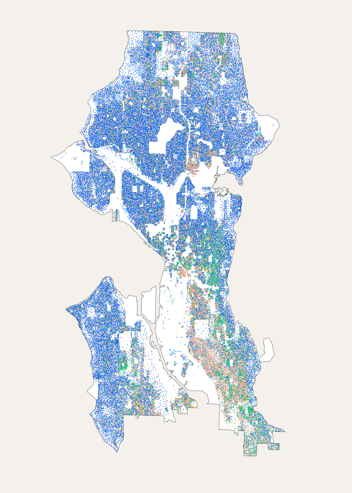 Morphocode Explorer: Seattle Demographics Map